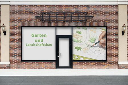 werbung für garten- und landschaftsbau   werbebanner24.de, Garten und Bauen